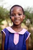 Barn i skola i Uganda arkivbilder