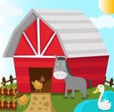 Barn stock illustration