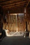 Barn inside Stock Photography