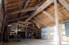 Barn inside Stock Image