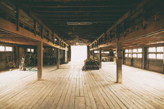 Barn Interior Architecture detail space Stock Image