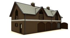 Barn isolated royalty free stock photos