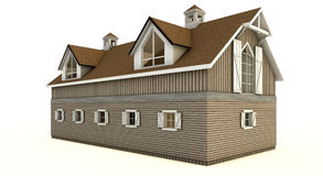 Barn isolated royalty free stock photo