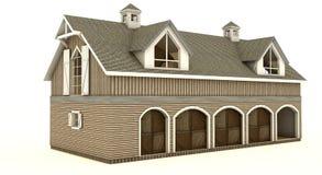 Barn isolated royalty free stock image