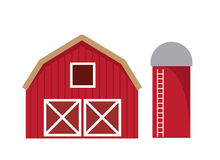 Barn Isolated Royalty Free Stock Photos
