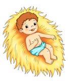 barn jesus Royaltyfri Bild