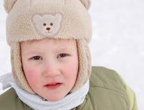 barn kommer jublar för att övervintra Fotografering för Bildbyråer