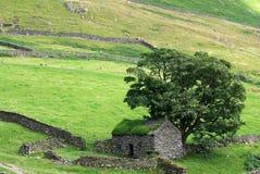 Barn in the Lake District. Remote barn in England, in the Lake District royalty free stock photo