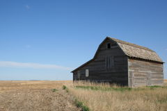 Barn landscape Stock Images