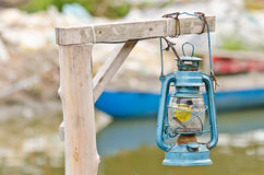 Barn lantern Royalty Free Stock Images