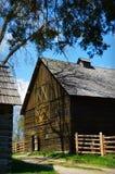Barn Log Fence Royalty Free Stock Image