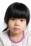 barn med den ledsna framsidan Royaltyfria Bilder