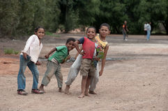 Barn Montagu, Spouth Afrika Arkivfoto