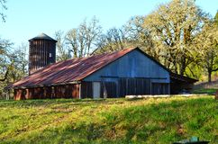 Barn at Mt. Pisgah Stock Image