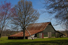 Barn near Oblong, IL Stock Photos