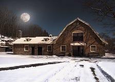 Barn at night Stock Photos