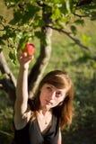 Barn och natur Fotografering för Bildbyråer