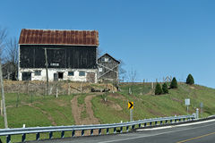 BArn. An old fashion red barn Royalty Free Stock Photography