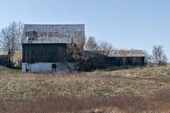 BArn. An old fashion red barn Stock Photography