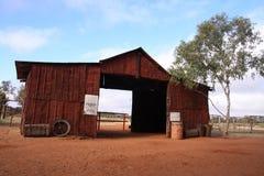 Desert Barn Stock Image