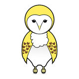 Barn owl vector designs vector Royalty Free Stock Photo