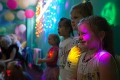 Barn på ferie royaltyfri foto