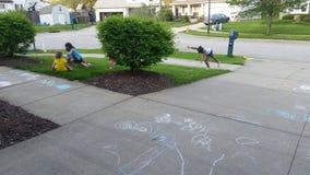 Barn på lek Royaltyfri Foto