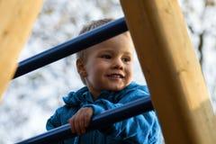 Barn på lekplats Royaltyfria Foton