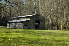 Barn, Palmer Place, Cataloochee Cove Royalty Free Stock Image