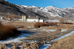 Barn: Park City Utah Stock Images