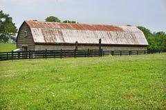 Barn & Pasture Stock Image