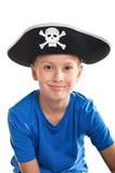 Barn piratkopierar Arkivfoto