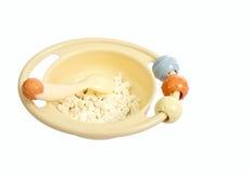 Barn plate med ost Royaltyfri Fotografi