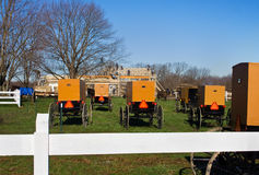 Barn Raising Royalty Free Stock Photography