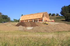 Barn Raising Royalty Free Stock Images