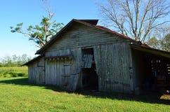 Opelousas, Louisiana Old Barn 06 royalty free stock photography