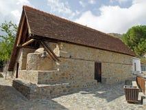 Barn roof church, Cyprus, Europe Royalty Free Stock Photo