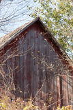 Barn Roof in Morning Sun Stock Photography