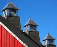 Barn roofline Stock Image