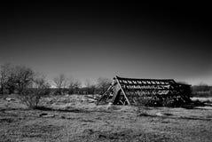 Barn of Ruin Royalty Free Stock Image