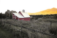Barn in rural Vermont Stock Photo