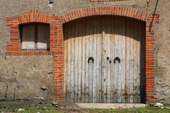 Barn's door Royalty Free Stock Photo