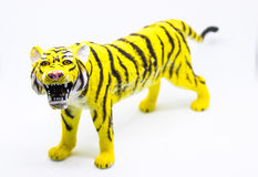 Barn` s Toy Tiger Royaltyfria Foton