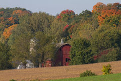 A Barn on the Scenic Byway Stock Photography