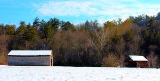 Barn and Shack Stock Photo