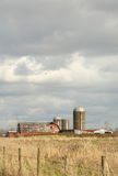 Barn and Silo, Washington State, USA Stock Image