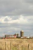 Barn and Silo, Washington State, USA Stock Image