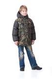 barn som clothing innegrej Royaltyfri Foto