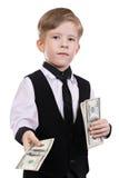 Barn som leker bankiren Fotografering för Bildbyråer