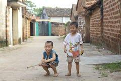 barn som leker vietnam Royaltyfri Fotografi